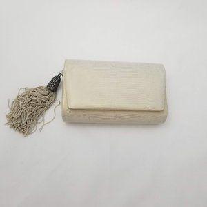 Judith Jack Evening Bag Marcasite Detail Gold